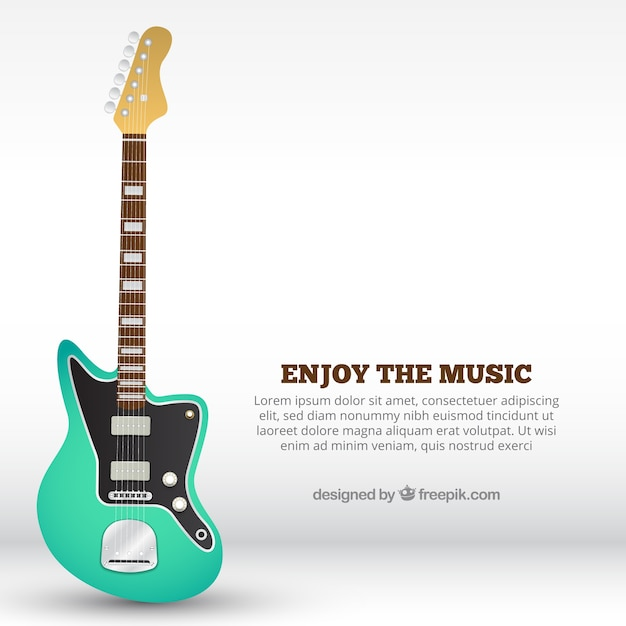 electric guitar background vector free download. Black Bedroom Furniture Sets. Home Design Ideas