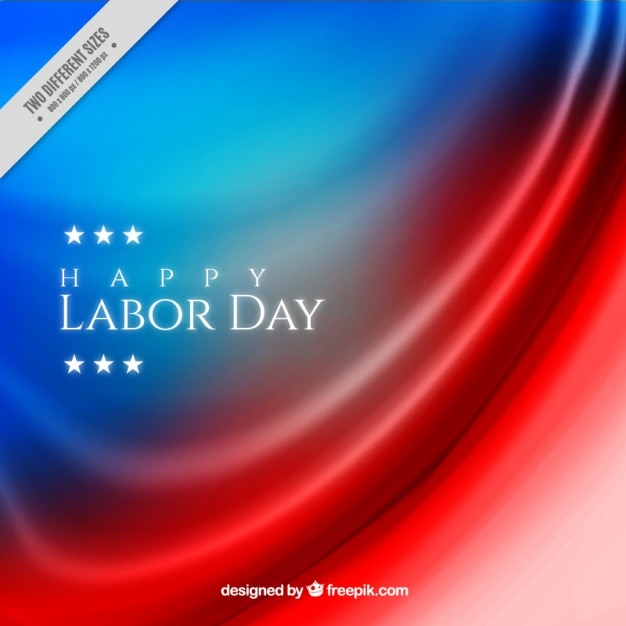Elegant abstract background of american labor day