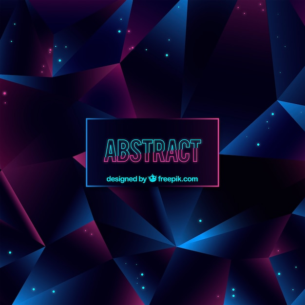 Elegant abstract background with geometric design Free Vector