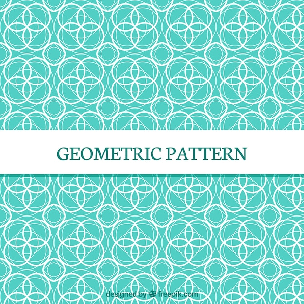 Elegant and modern geometric  pattern