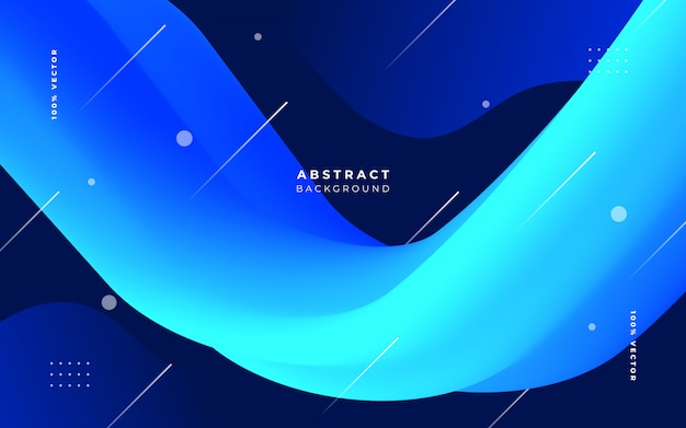 Elegant background with fluid shapes Free Vector