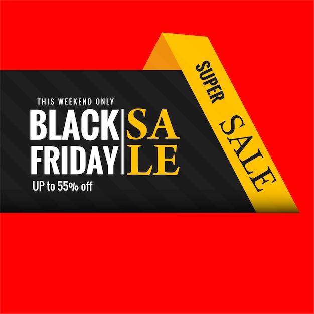 Elegante vendita venerdì nero creativa Vettore gratuito
