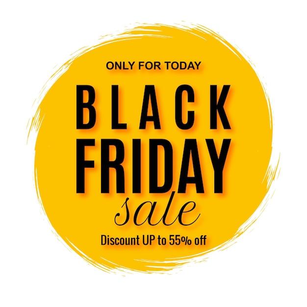 Элегантная распродажа в черную пятницу с всплеском Бесплатные векторы