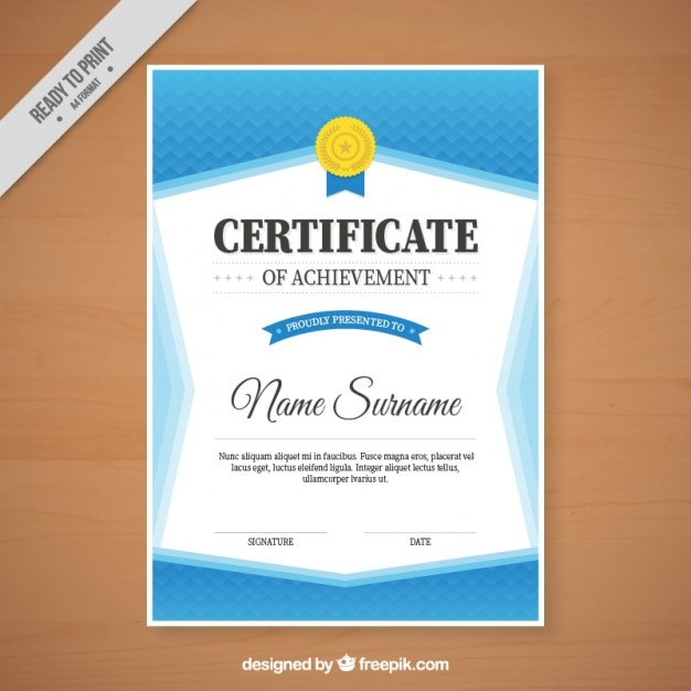 Elegant blue certificate vector free download elegant blue certificate free vector yelopaper Image collections