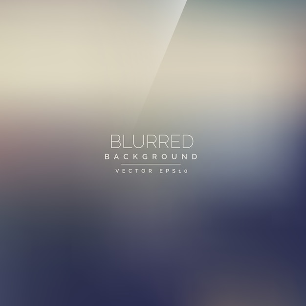 Elegant blurred background  Free Vector