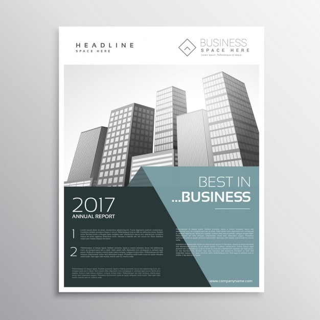 Elegant business brochure template vector free download for Elegant brochure templates