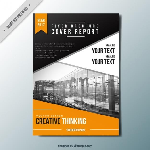 classy brochure design - elegant business brochure vector free download