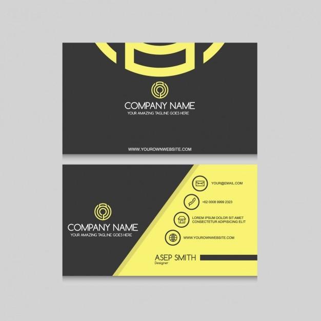 Elegant business card design vector free download elegant business card design free vector reheart Gallery