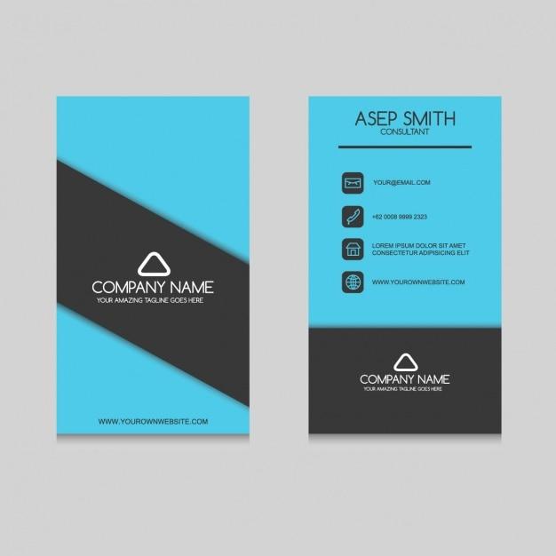 Elegant business card design Vector | Free Download