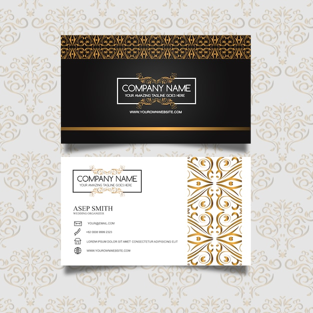 Elegant business card design vector free download elegant business card design free vector colourmoves