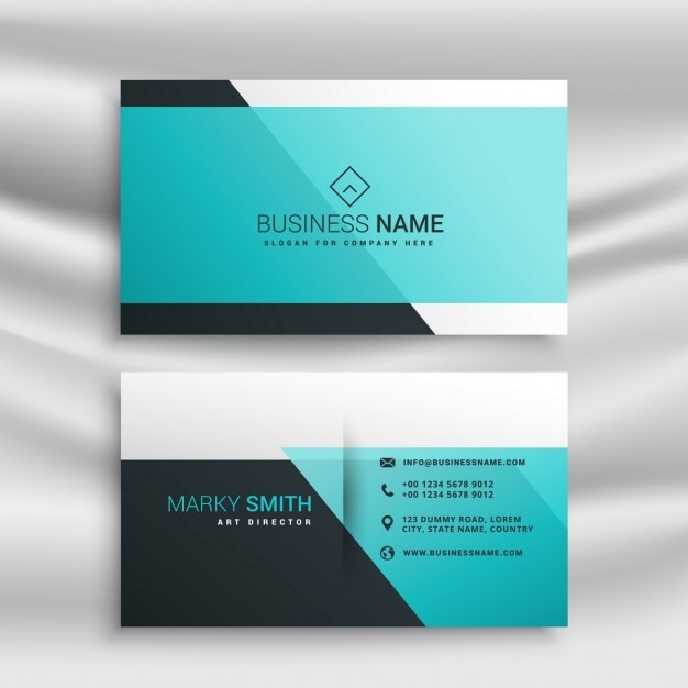 Elegant business card template with abstract shapes vector free elegant business card template with abstract shapes free vector accmission Image collections
