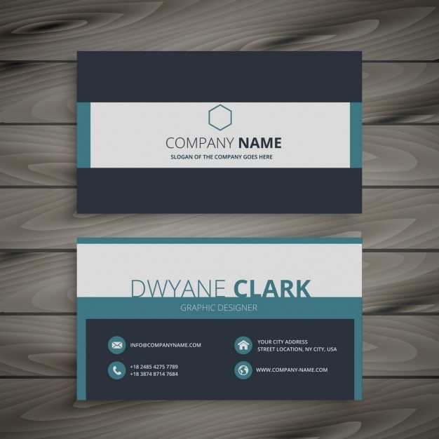 Elegant business card template vector free download for Elegant business cards templates