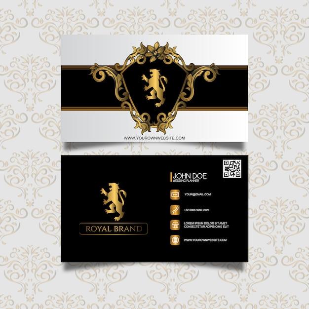 Elegant business card template vector premium download elegant business card template premium vector wajeb Choice Image