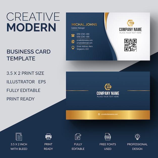 Elegant Business Card Template Vector Premium Download - 2 x 35 business card template