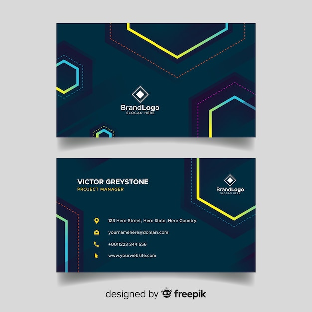 Diagram electric business cards wiring diagram services elegant business card template vector free download rh freepik com electrician cards contractor business cards friedricerecipe Images