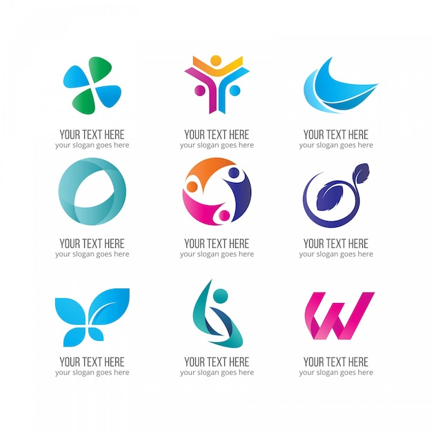 Elegant business logos vector free download elegant business logos free vector wajeb Images