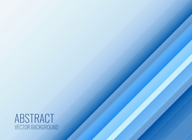 Elegant business style blue background Free Vector