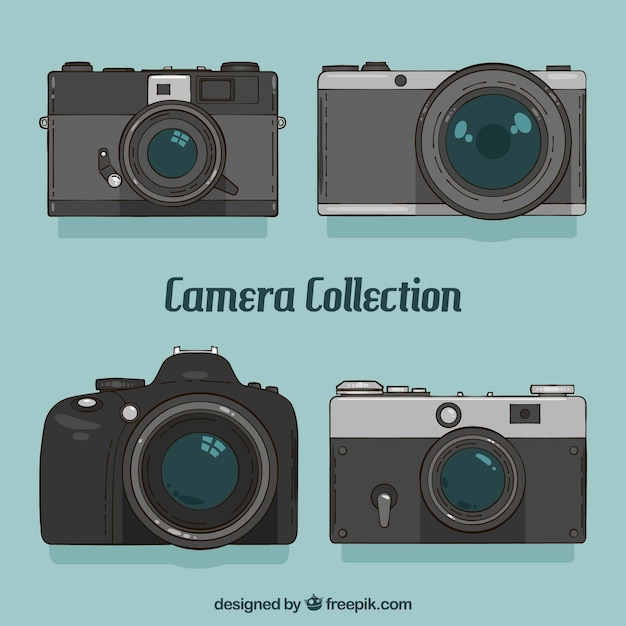 Elegant camera collection