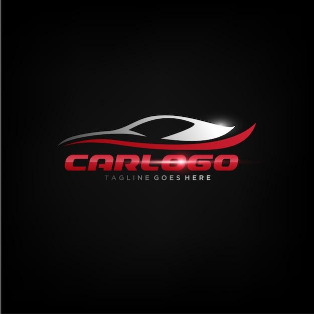 Elegant car logo design Vector | Premium Download