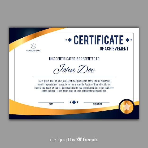 Elegant Marriage Certificate Template Golden Edition: Elegant Certificate Template With Golden Elements Vector