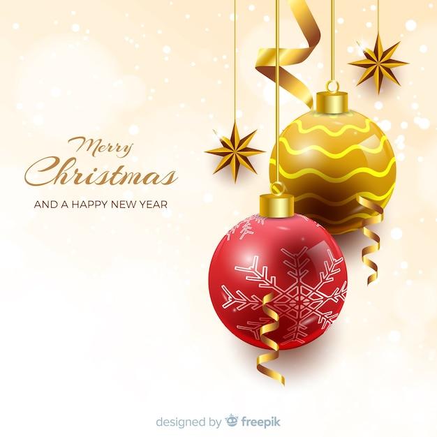 Elegant Christmas Background Images.Elegant Christmas Background With Realistic Design Vector