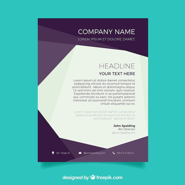 Elegant Professional Corporate Letterhead Template 000890: Elegant Corporate Abstract Letterhead Template Vector