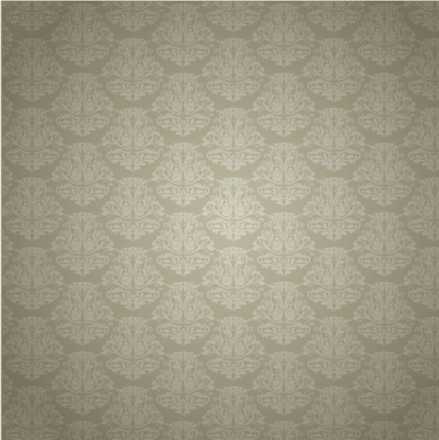 Elegant damask background Free Vector