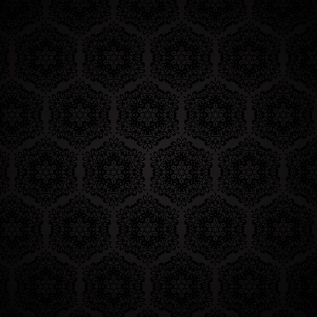 Elegant damask style pattern background Vector | Free Download