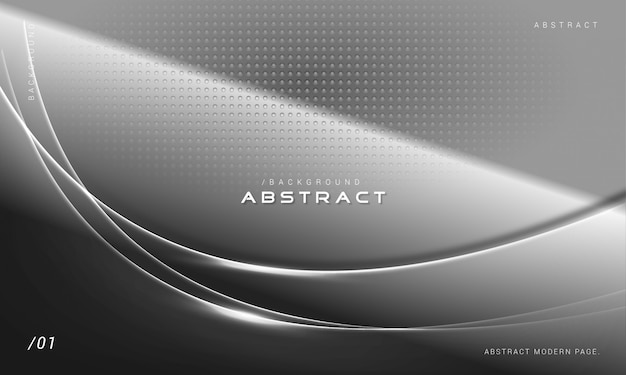 Elegant dark shiny monochrome background Premium Vector