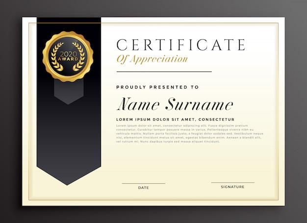 Elegant diploma award certificate template design vector premium elegant diploma award certificate template design premium vector yelopaper Images