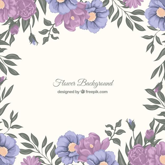 Elegant floral backgro...