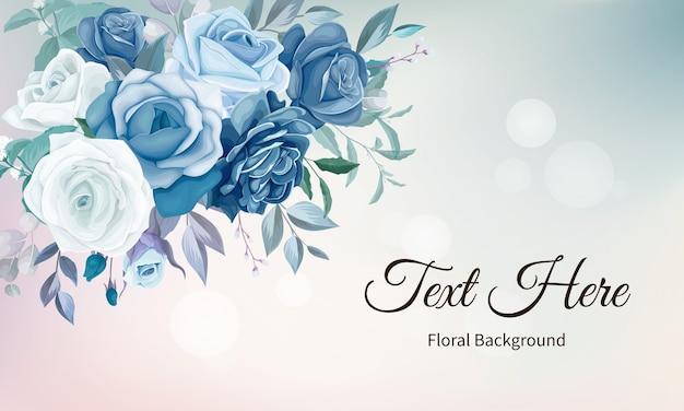 Elegant floral background Free Vector