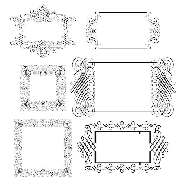elegant frames premium vector - Elegant Frames
