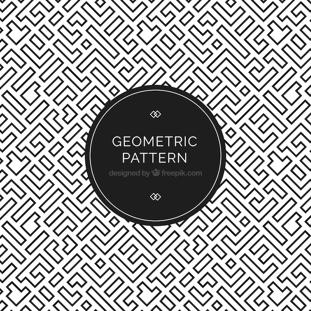 Elegant Geometric Pattern Vector