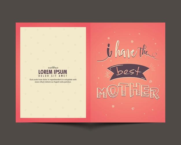 Elegant greeting card design for happy mothers day celebration elegant greeting card design for happy mothers day celebration free vector m4hsunfo