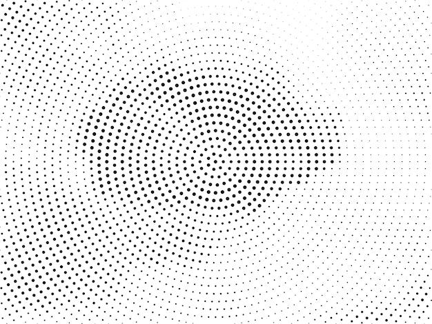 Elegant halftone design modern background vector Free Vector