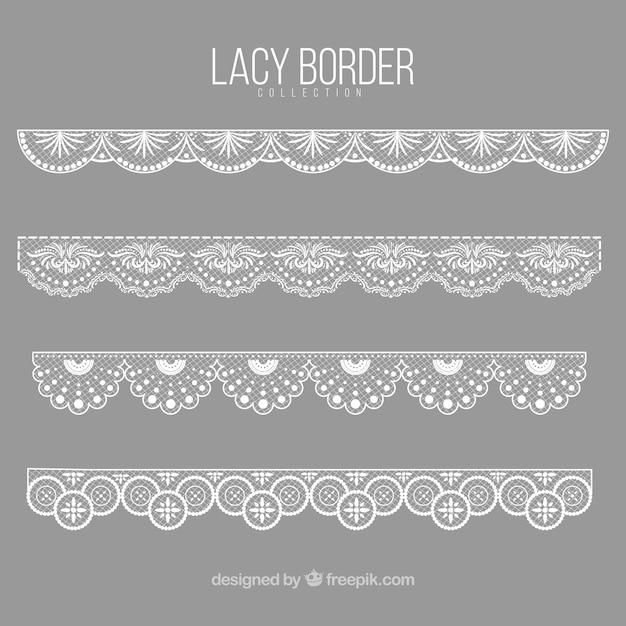 Elegant lace decorative borders vector free download elegant lace decorative borders free vector stopboris Images