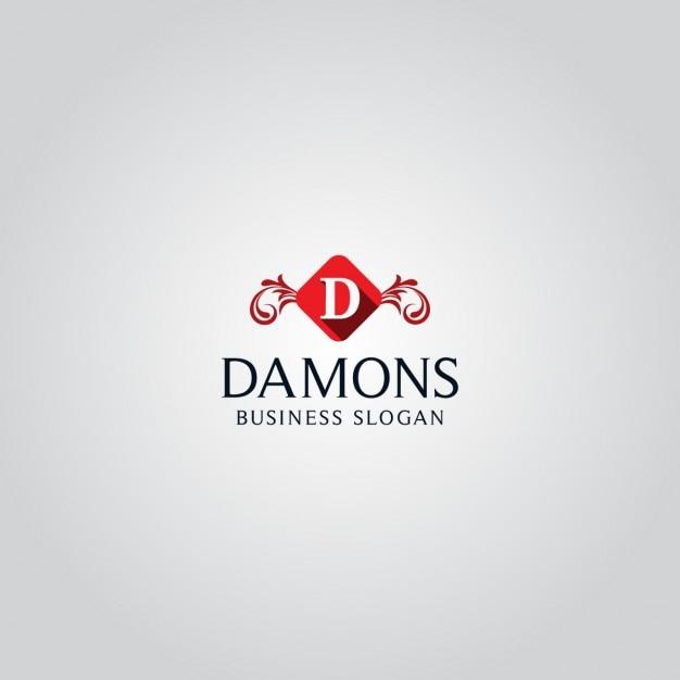 Elegant letter d logo Free Vector