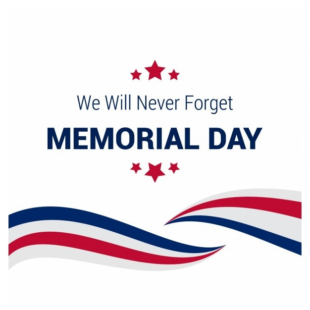 Elegant memorial day background