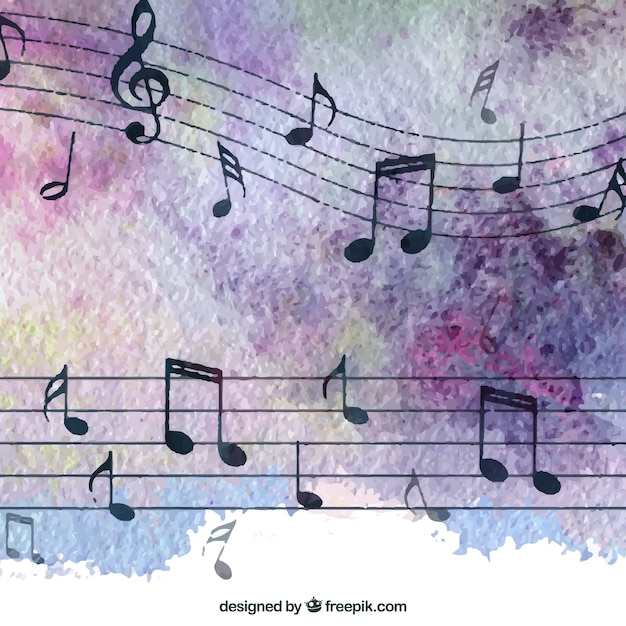 Elegant music notes background vector free download elegant music notes background free vector voltagebd Image collections