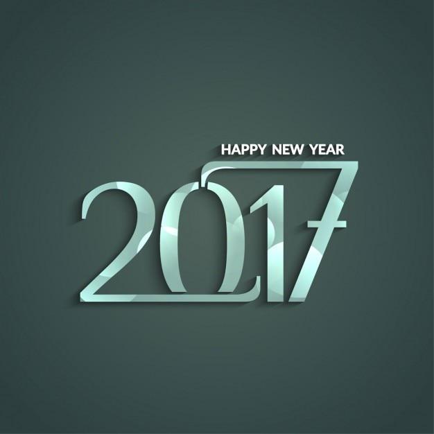 Elegant new year 2017 background