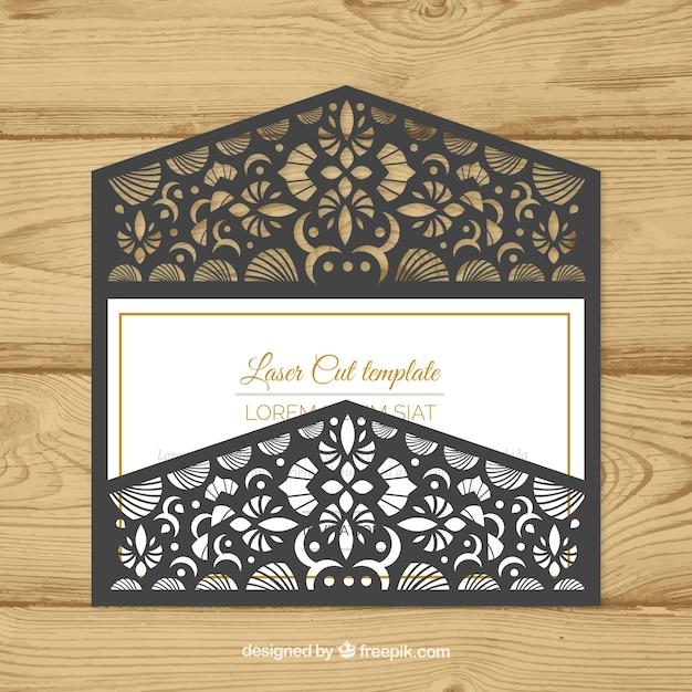 Elegant ornamental envelope with laser cut vector free download elegant ornamental envelope with laser cut free vector stopboris Choice Image