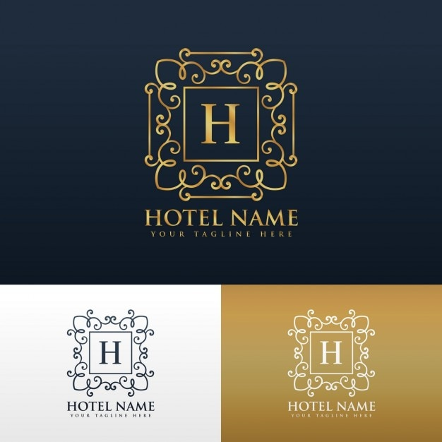 Hotel Logo Design Samples
