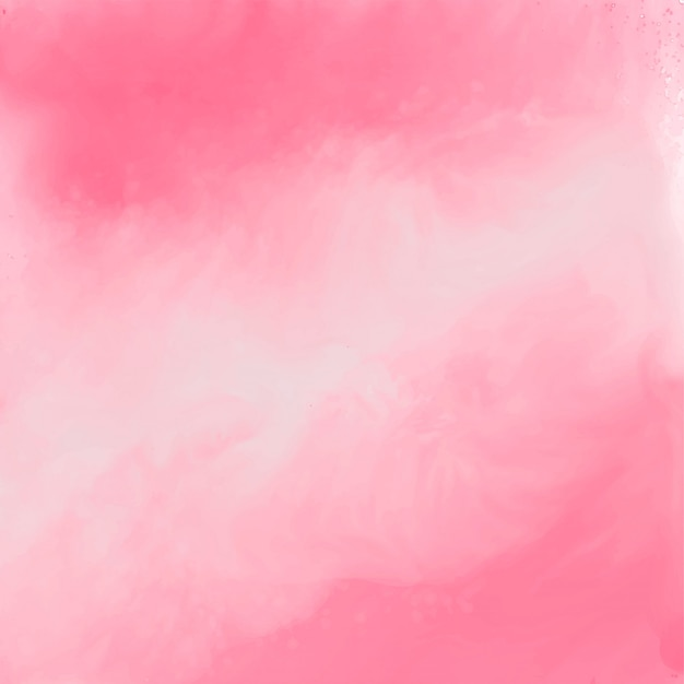 Elegant pink watercolor texture background Free Vector