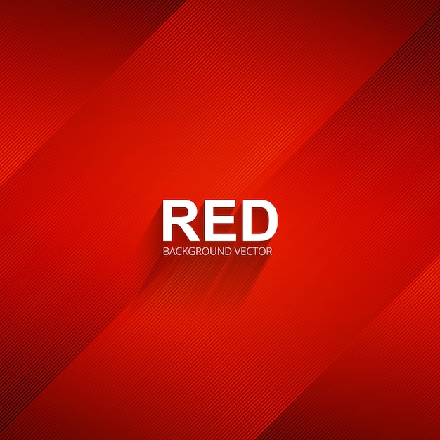Elegant red lines background illustration Premium Vector
