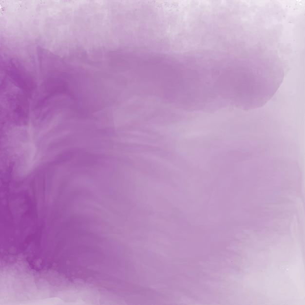Elegant soft purple watercolor texture background Free Vector