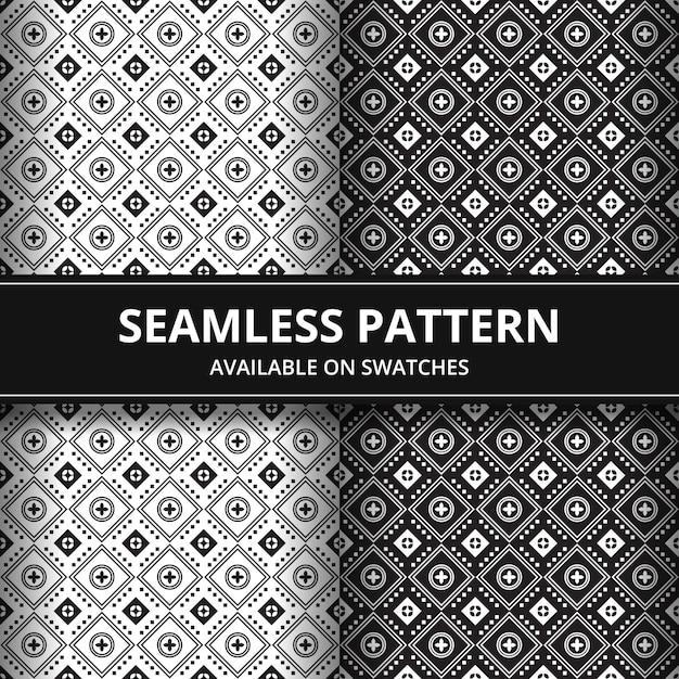 Elegant traditional batik seamless pattern background. luxury and classic motif for backdrop wallpaper. Premium Vector