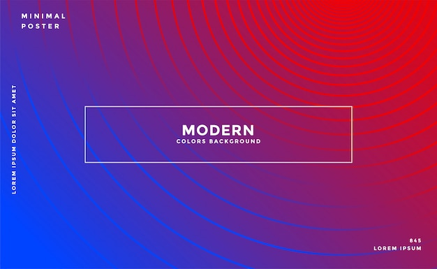 Elegant vibrant background with circular lines Free Vector