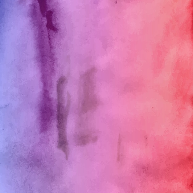 Elegant watercolor textured background Free Vector