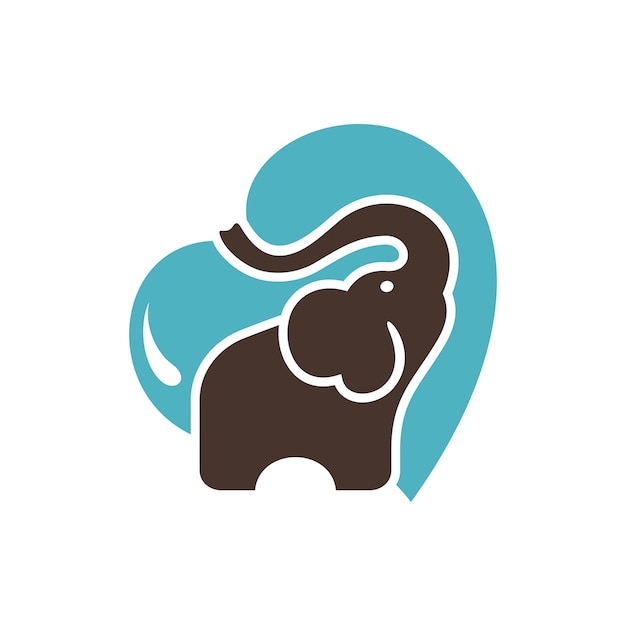Elephant logo stock images Vector | Premium Download